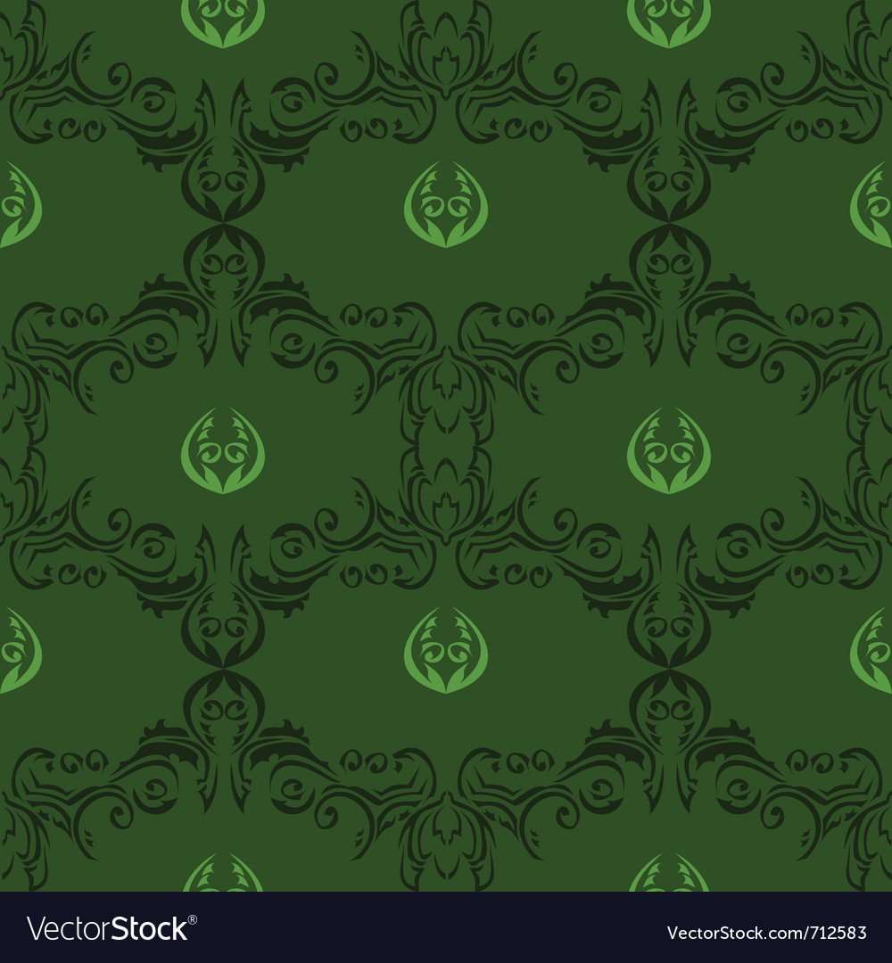 Seamless floral pattern 01 vector