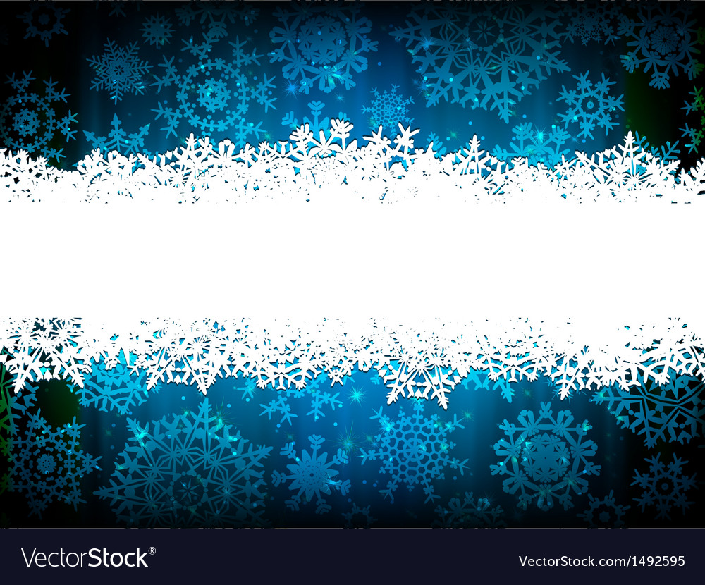 Christmas background with copyspace eps 10 vector
