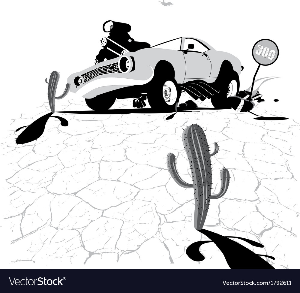 Bad cars vector