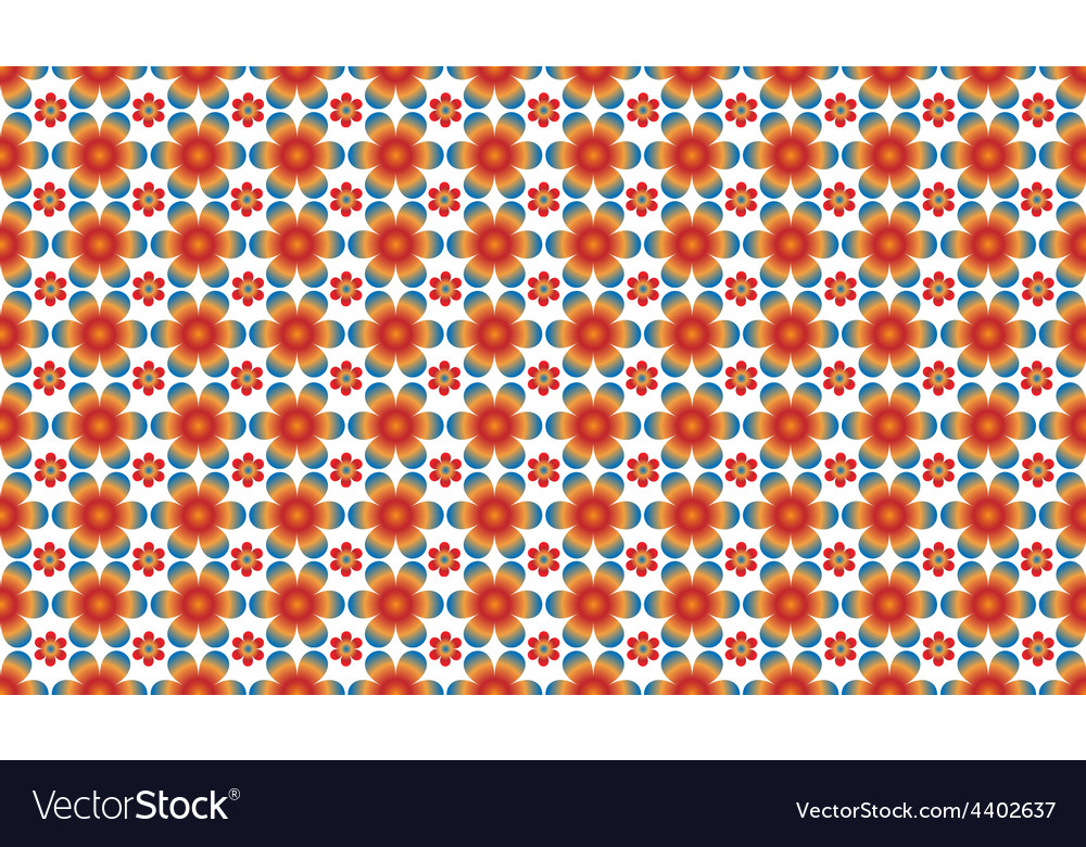 Floral pattern - seamless vector