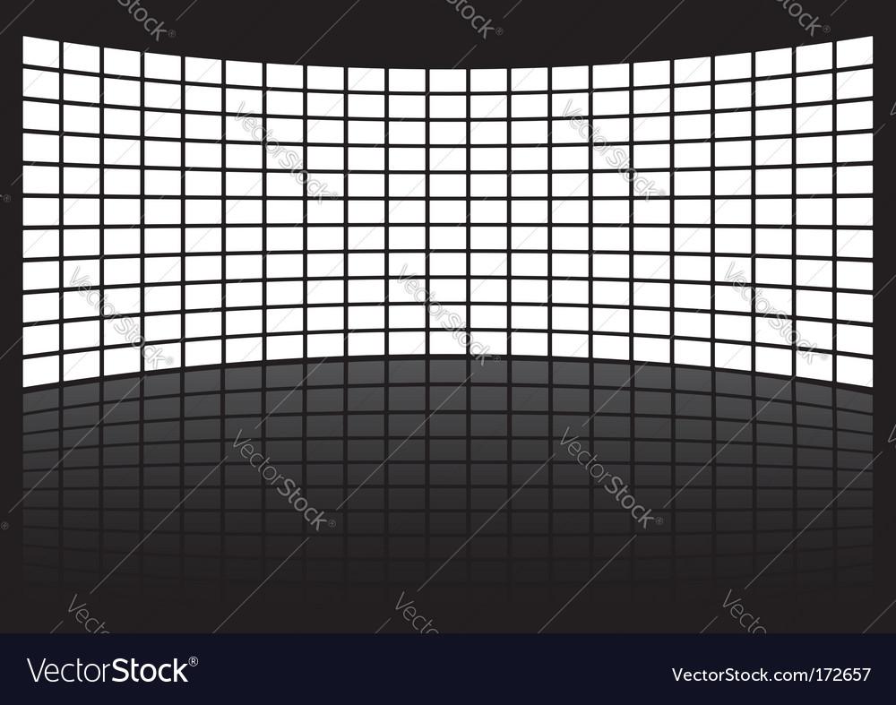 Geometric background vector