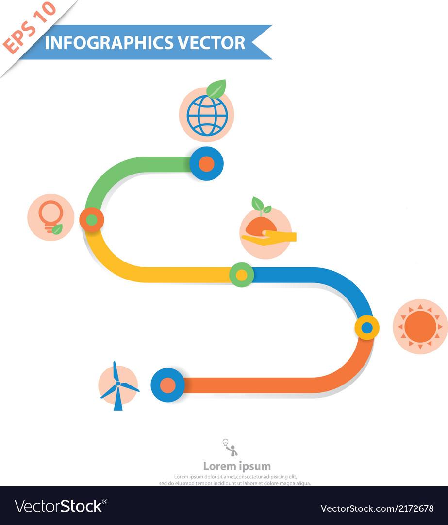 Infographics 90002 vector