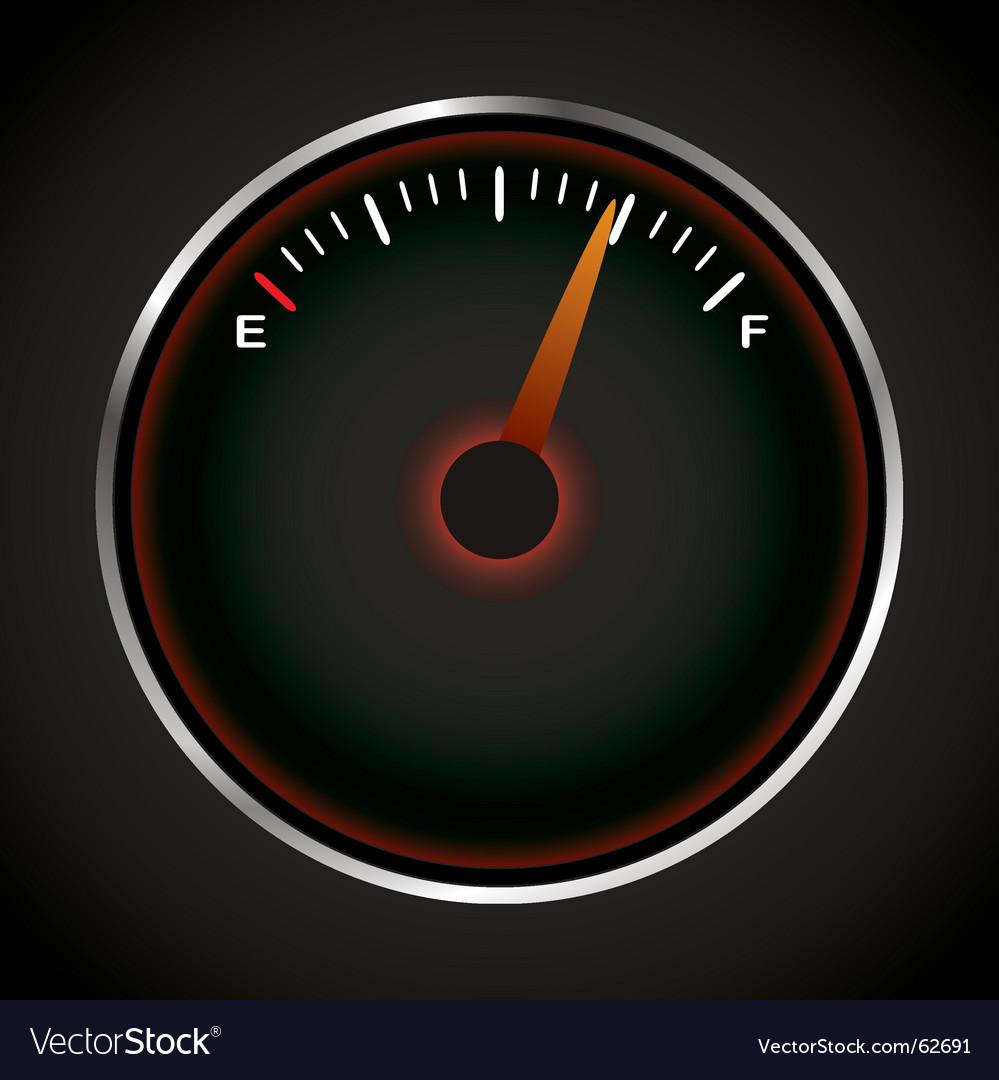 Fuel dial vector