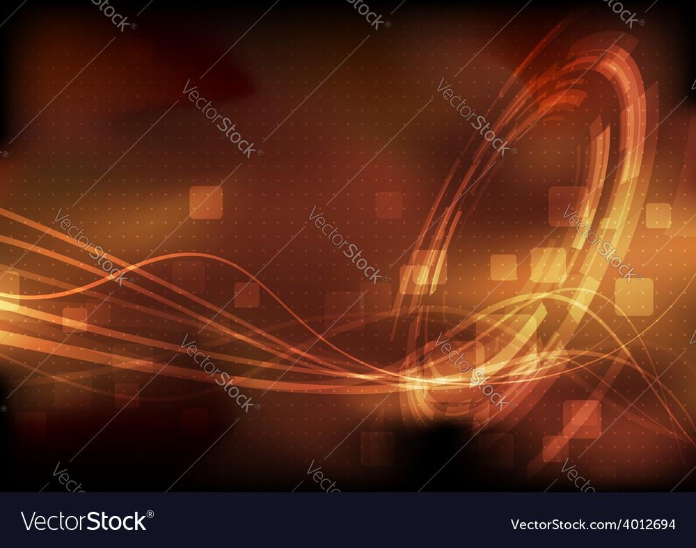 Hi-tech modernistic energy technology background vector
