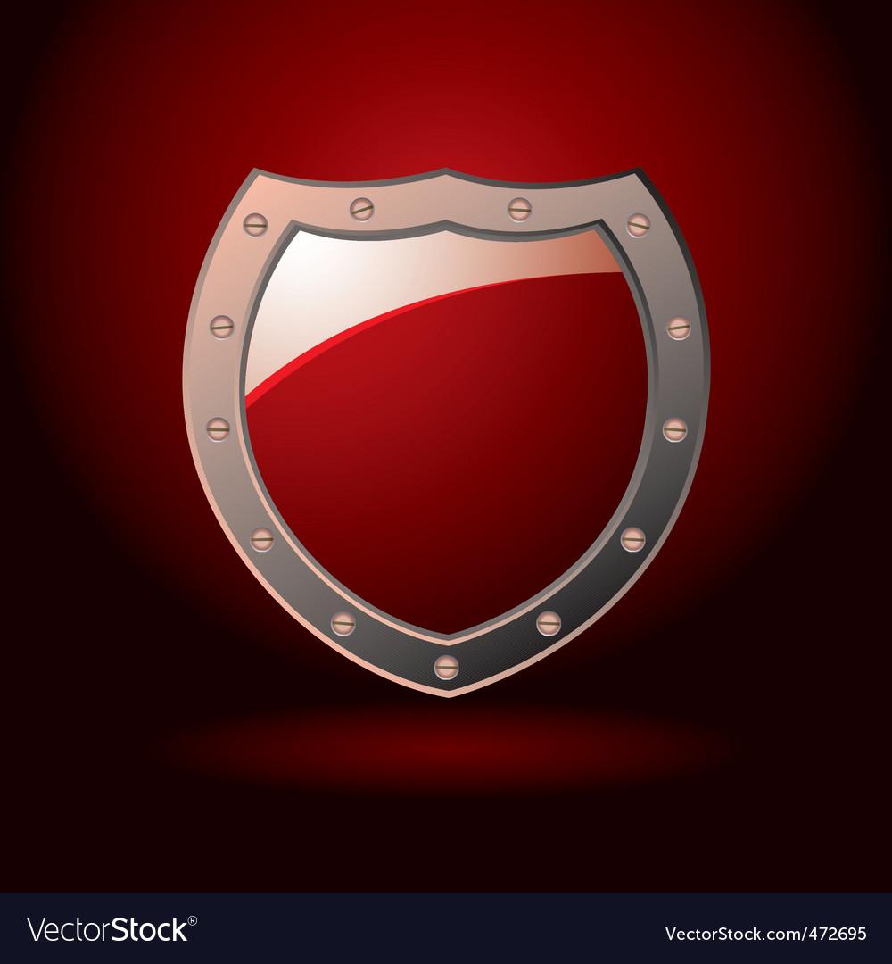 Decorative shield vector