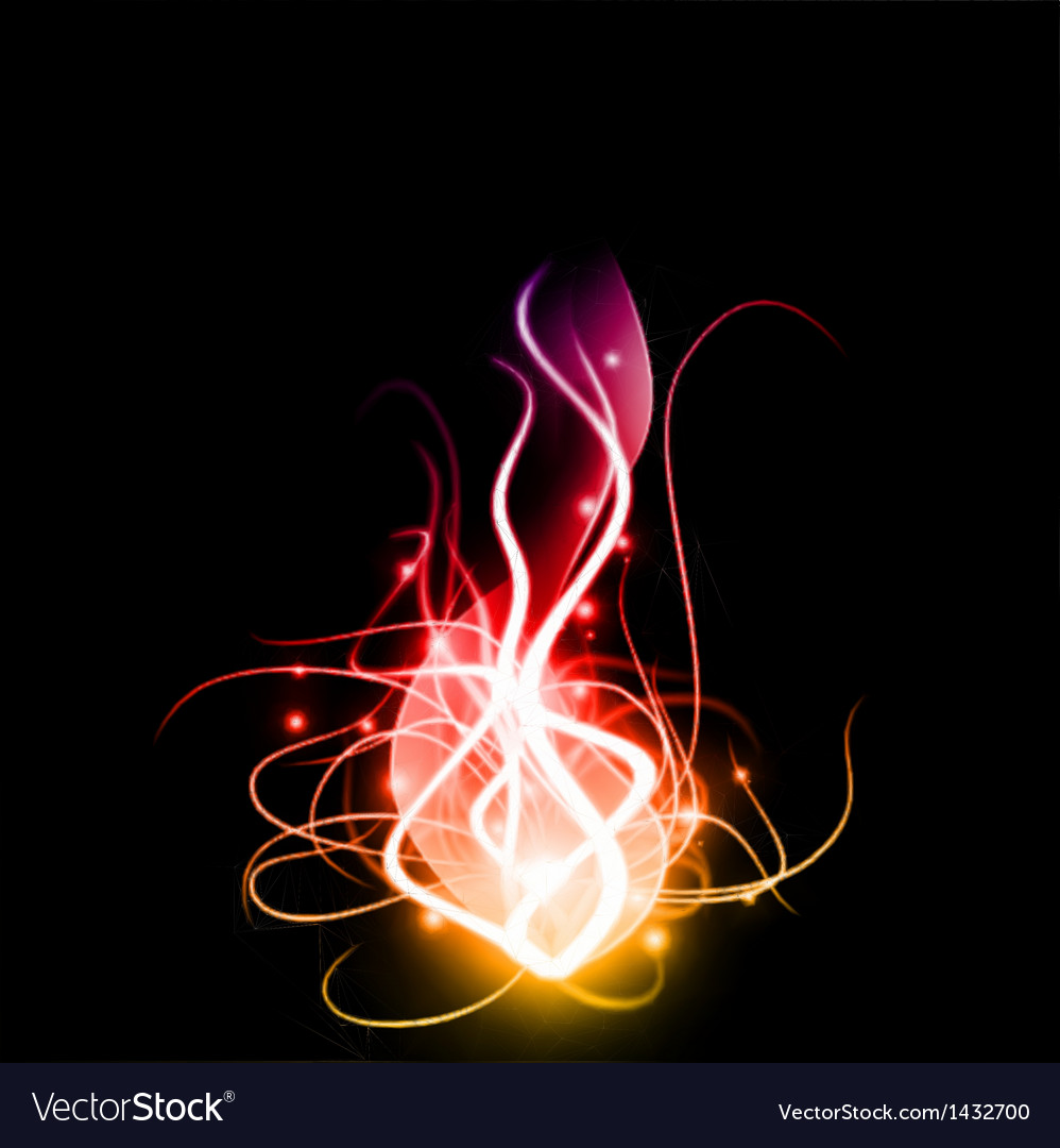 Abstract background with lighting effect vector
