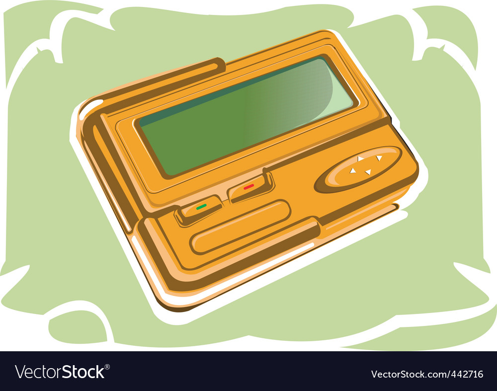 Pager vector