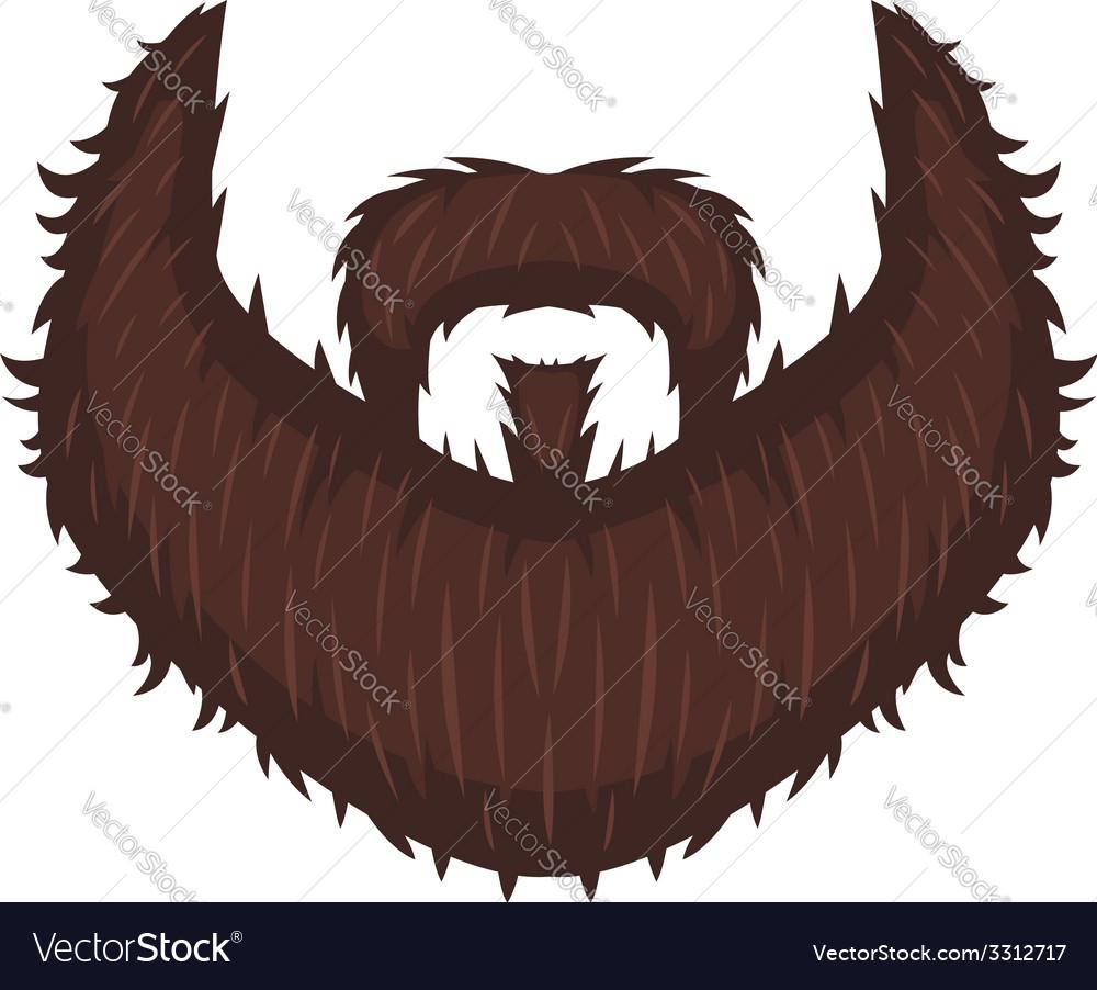 Captains beard vector