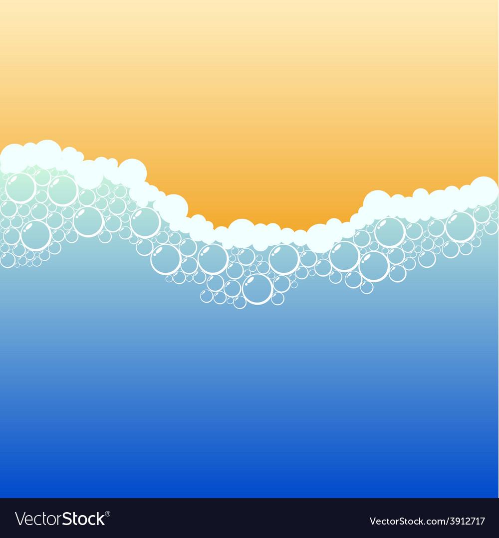 Coastline vector