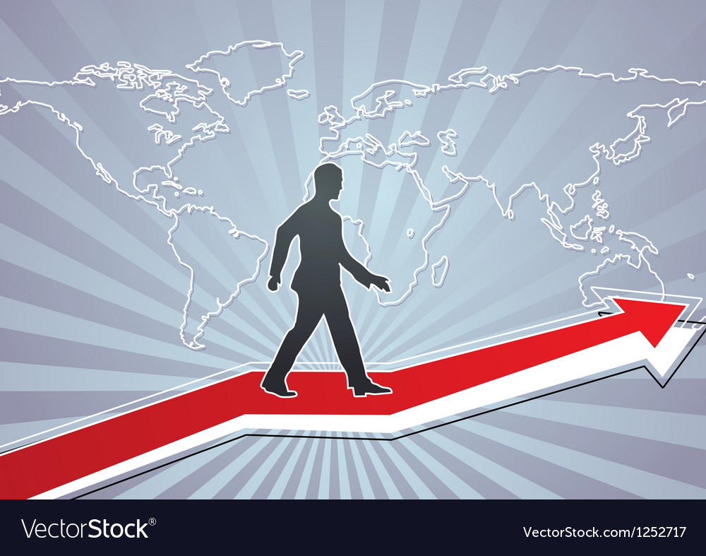 Path to success vector