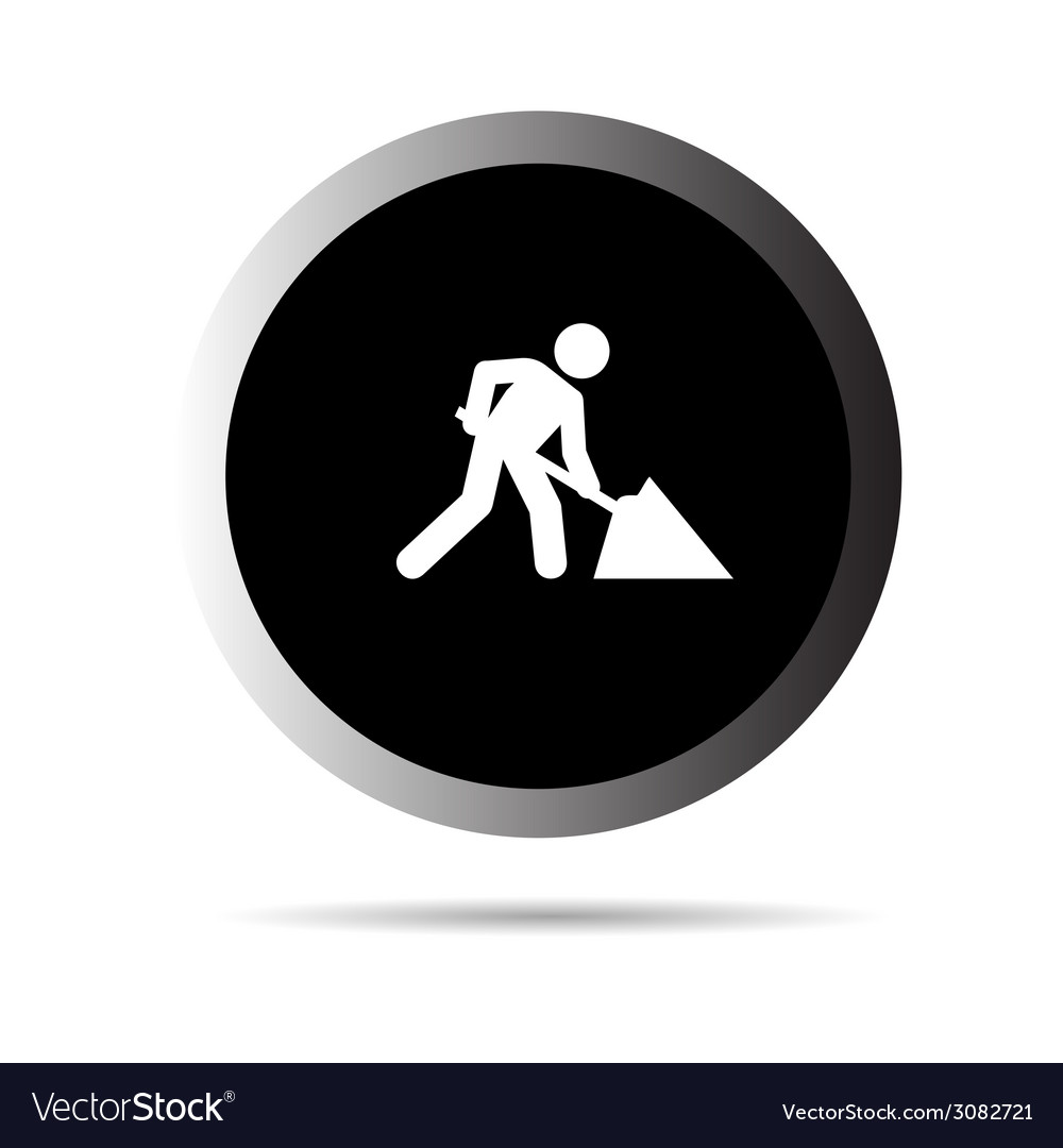 Men at work vector