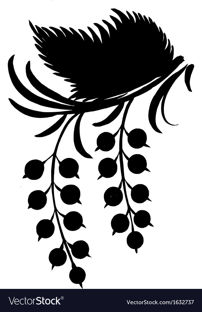 Silhouette in grunge style vector