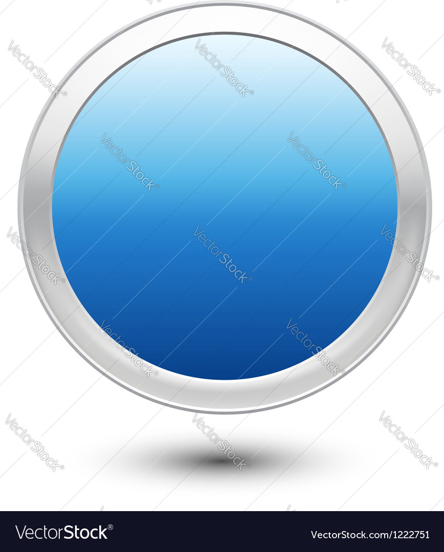 Empty button vector