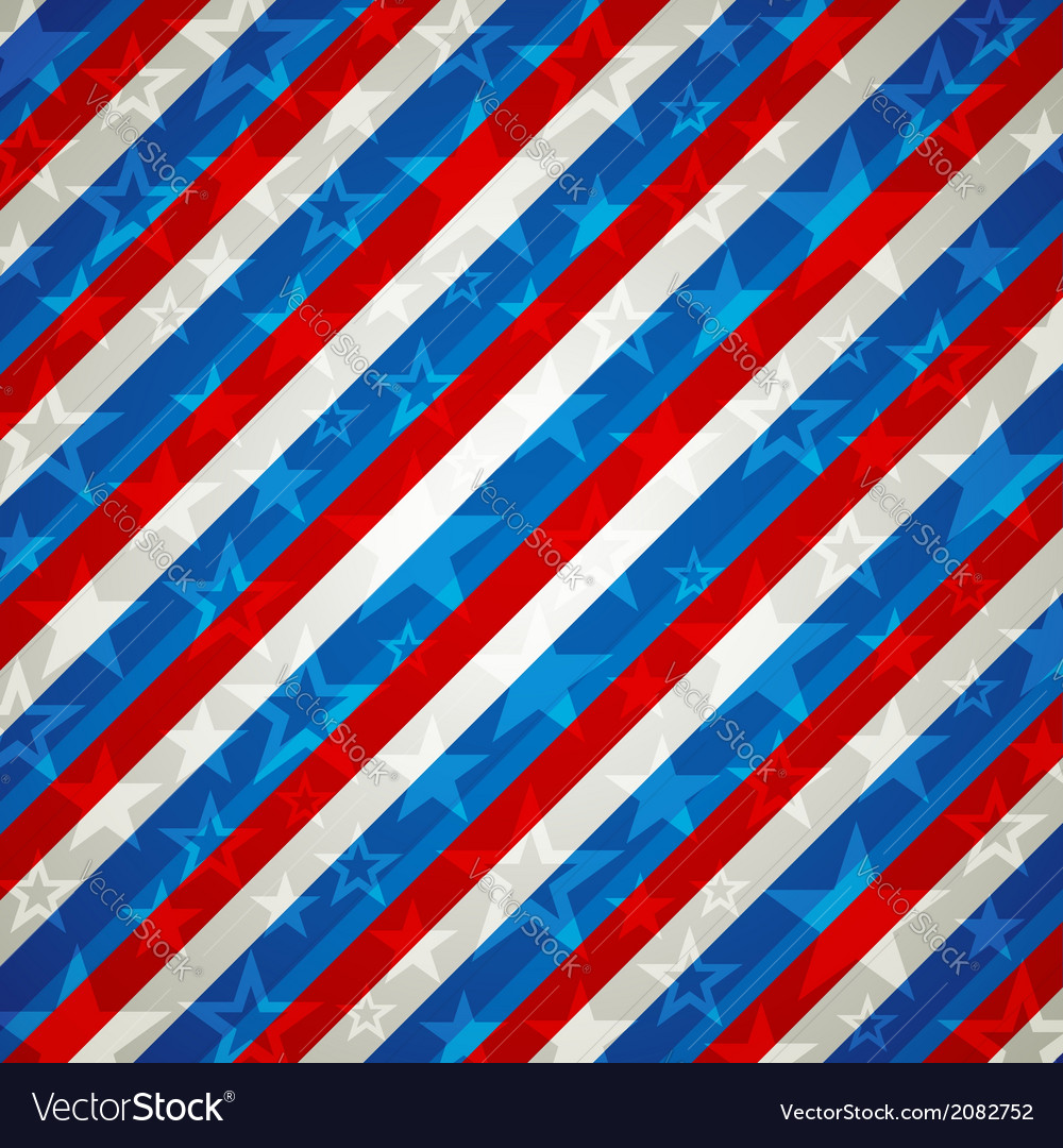 Square usa background vector