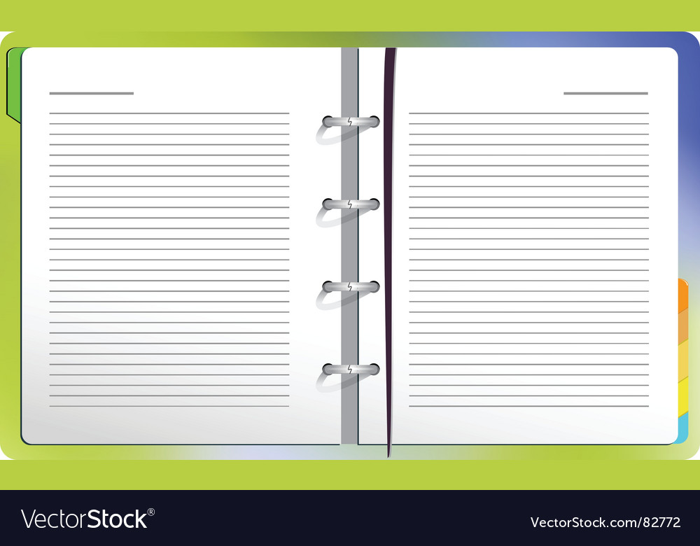 Effective colored background vector