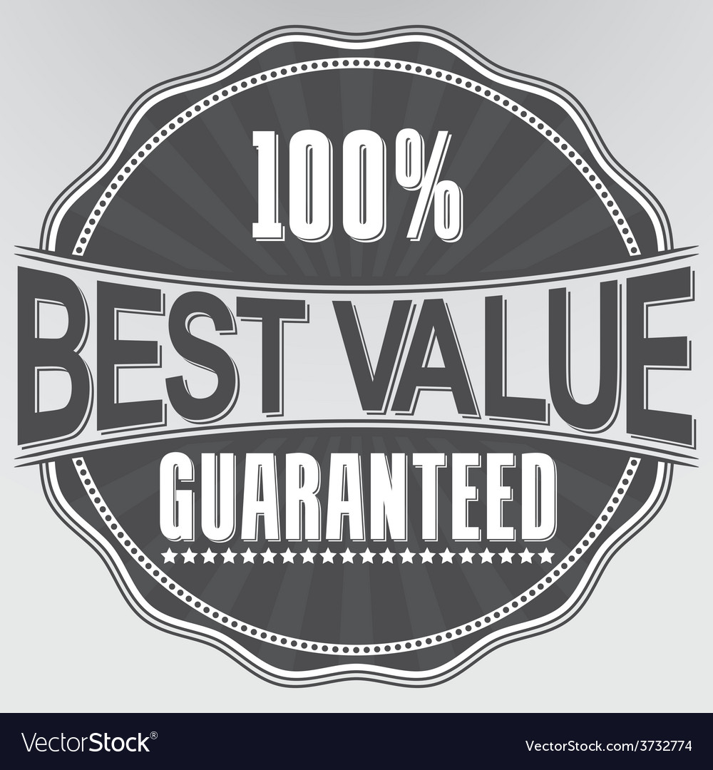 Best value guaranteed retro label vector