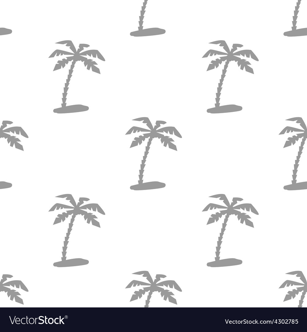 New island seamless pattern vector