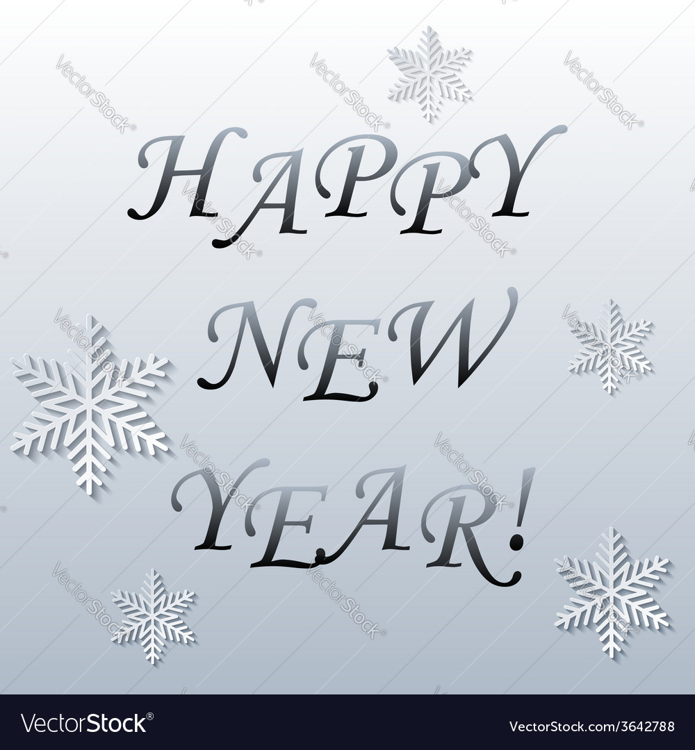 Abstract new year background vector
