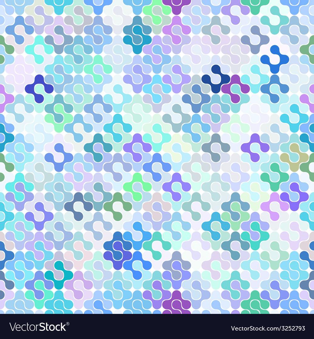 Abstract seamless meta ball pattern vector