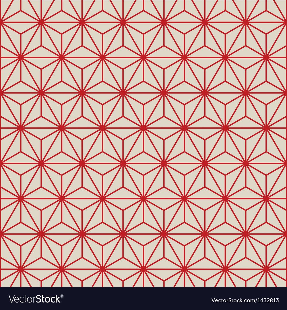 Seamless pattern background retro vector
