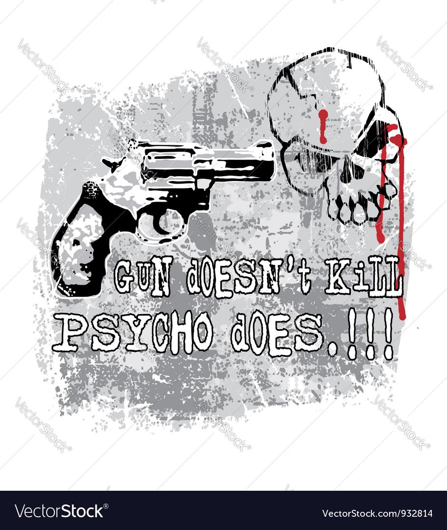 Gun does kill vector