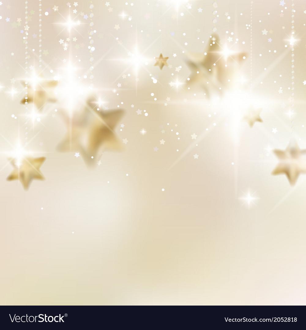 Elegant christmas snowflakes and copyspace vector