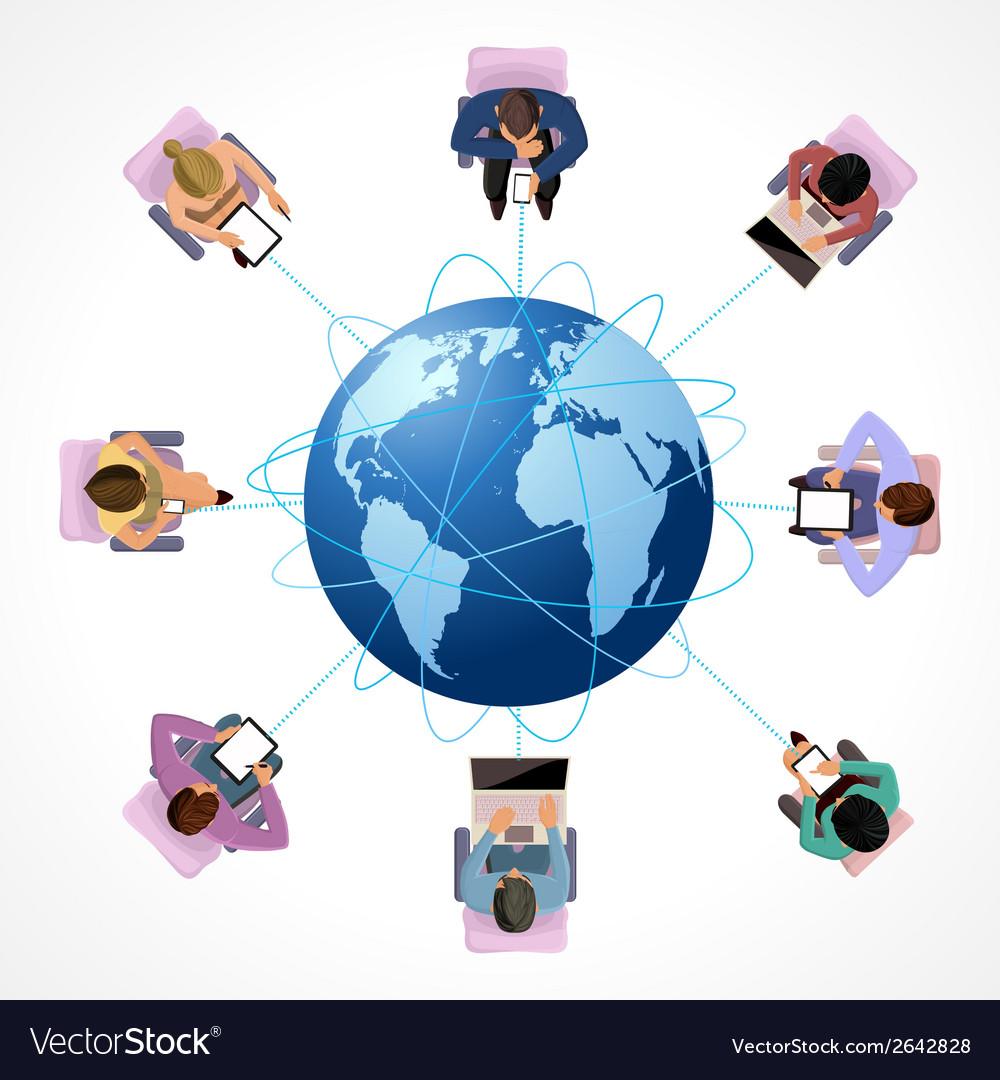 Global concept vector