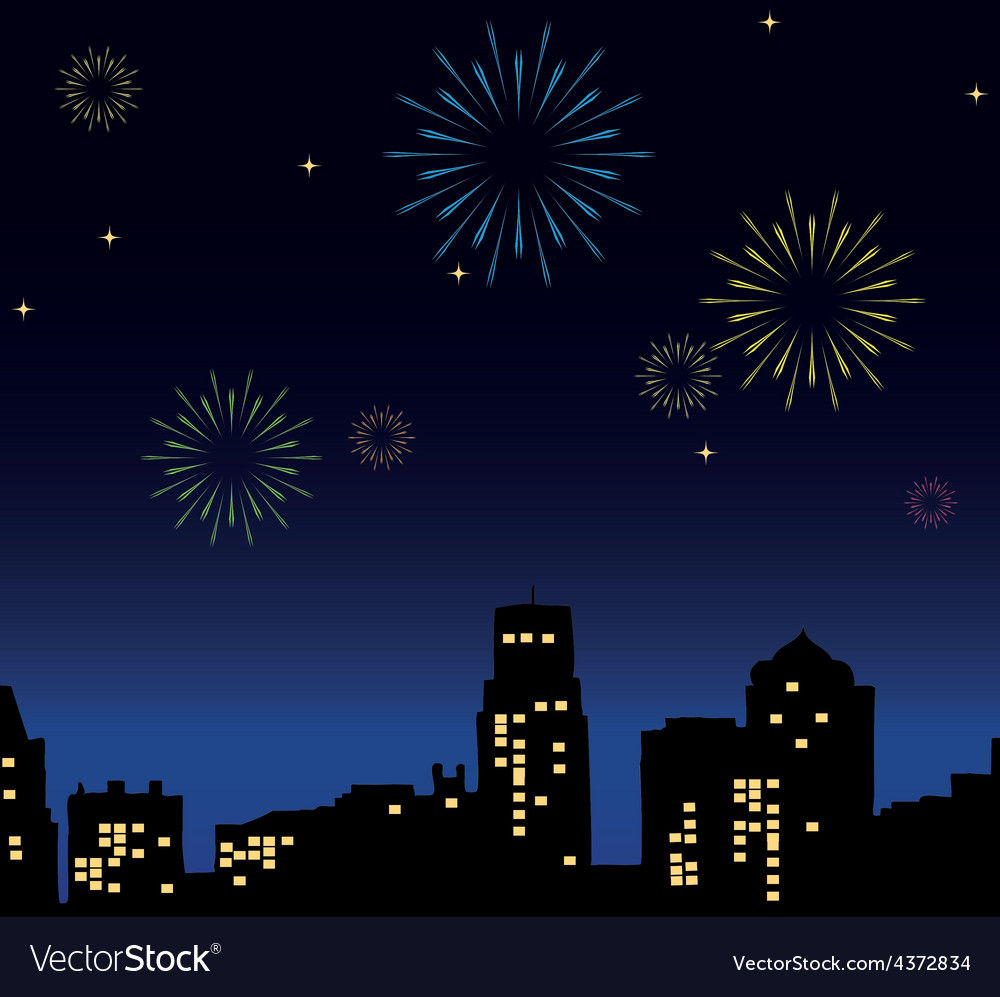 New years eve vector