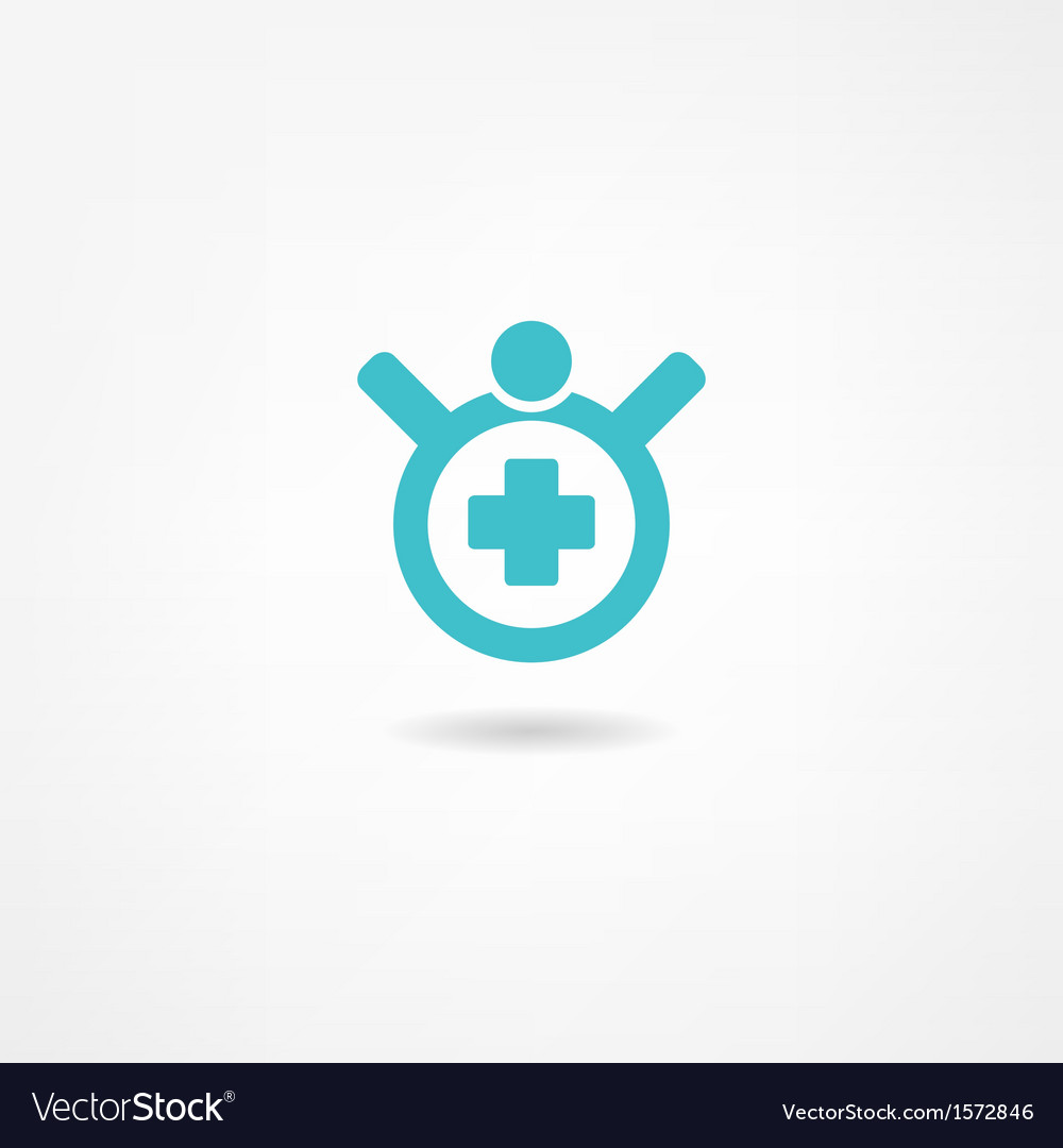 Medical icon vector