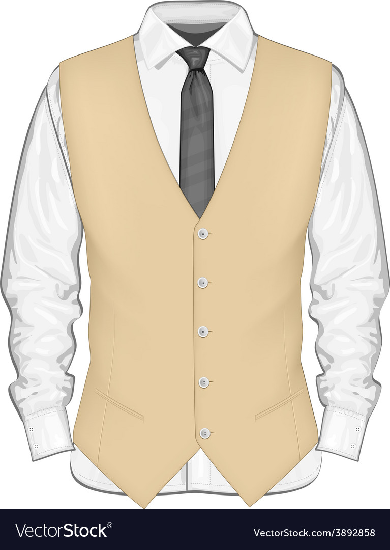Formal wear for men vector