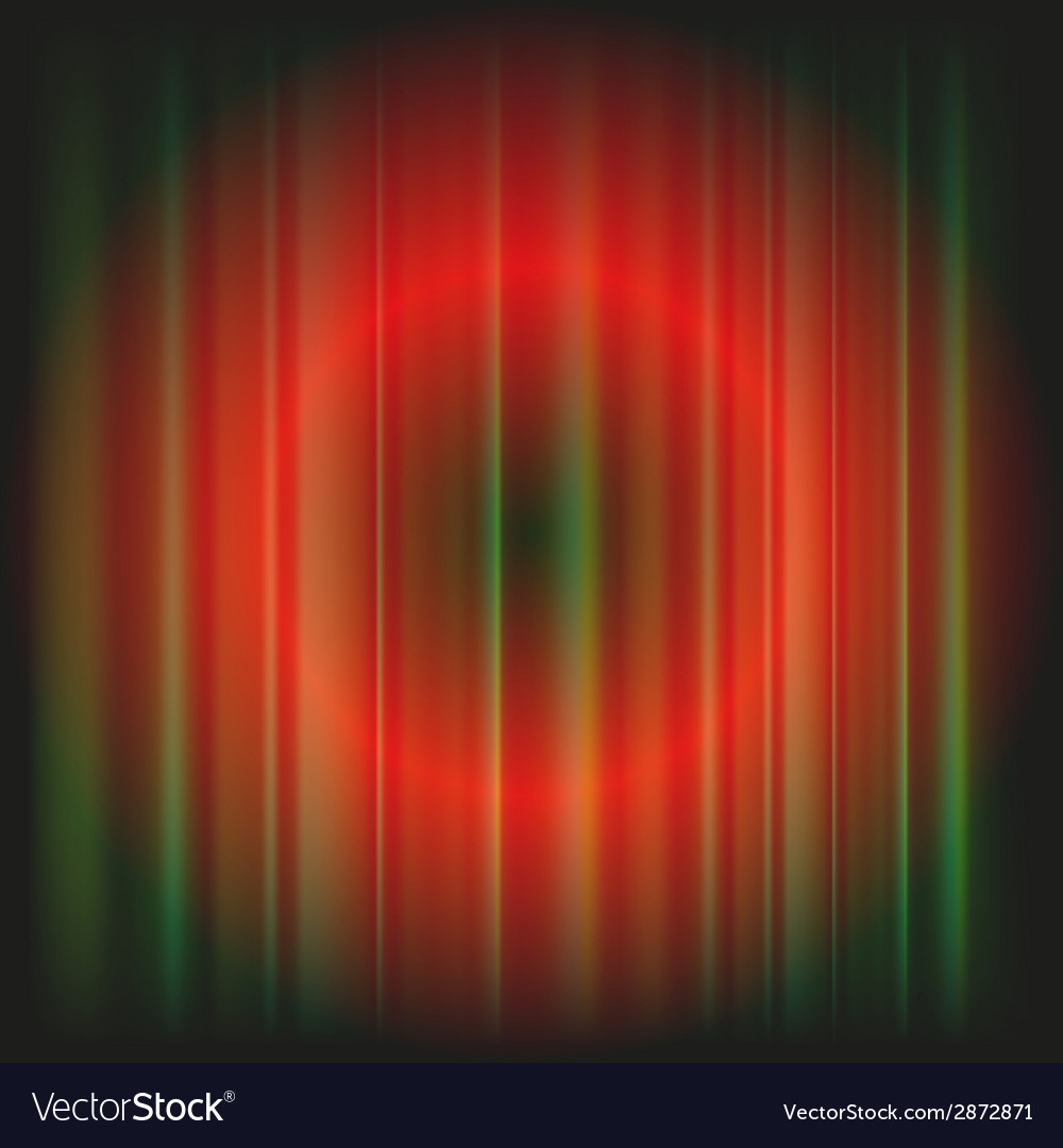 Red abstract background blur light circle vector