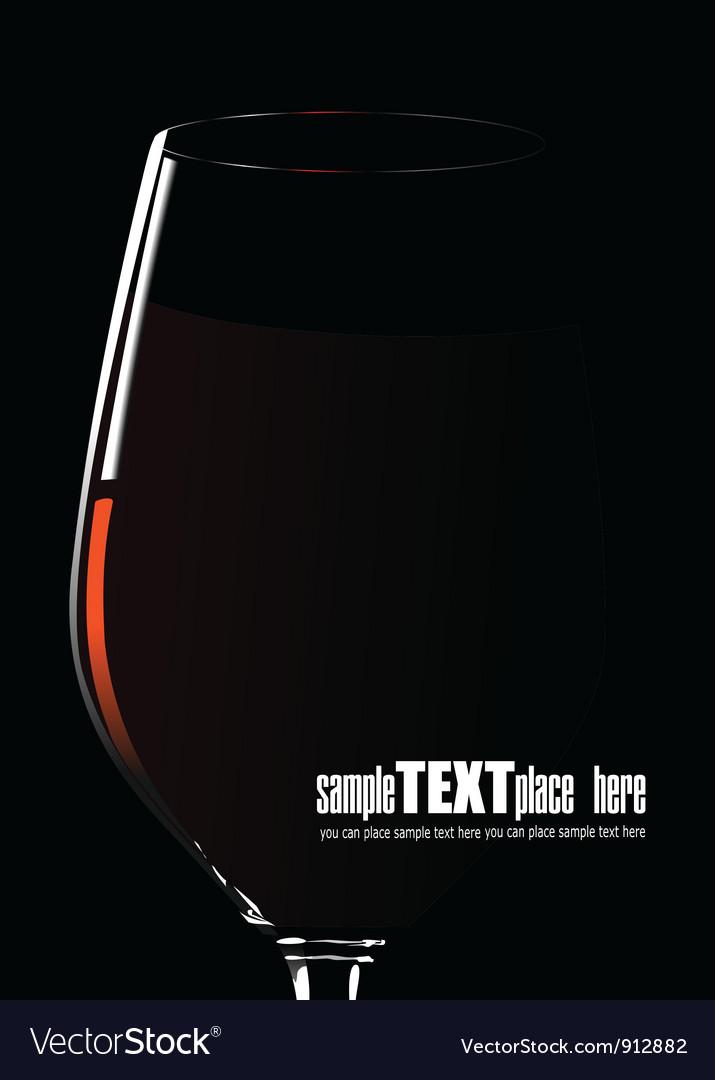 Wine poster vector