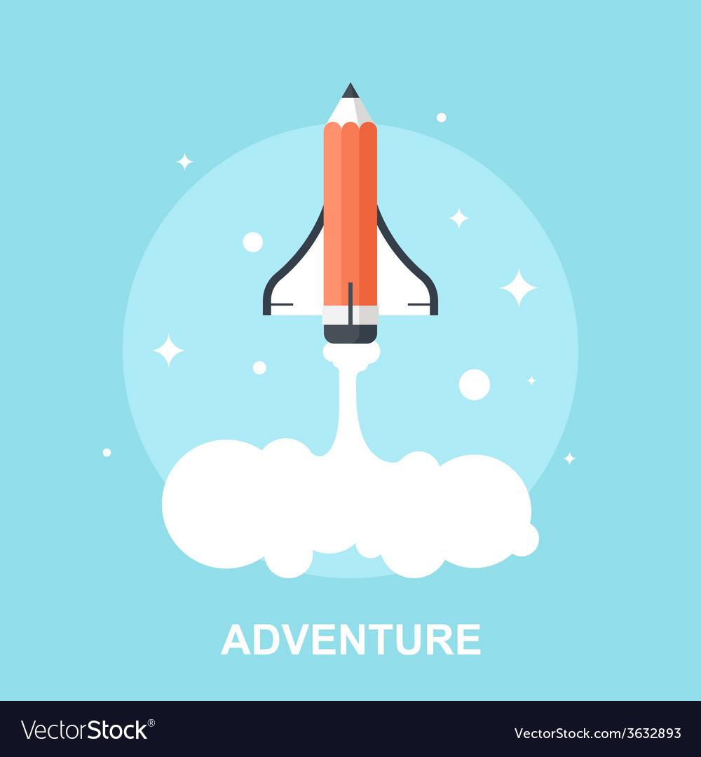 Adventure vector