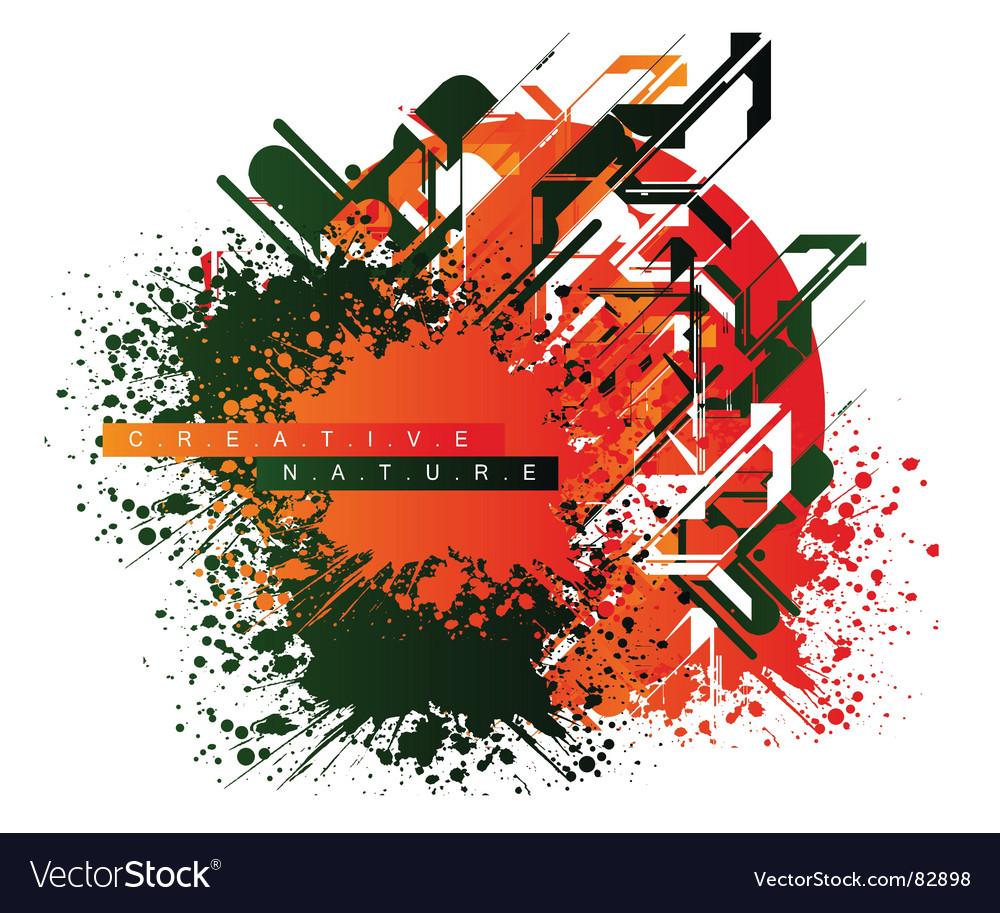 Art background vector