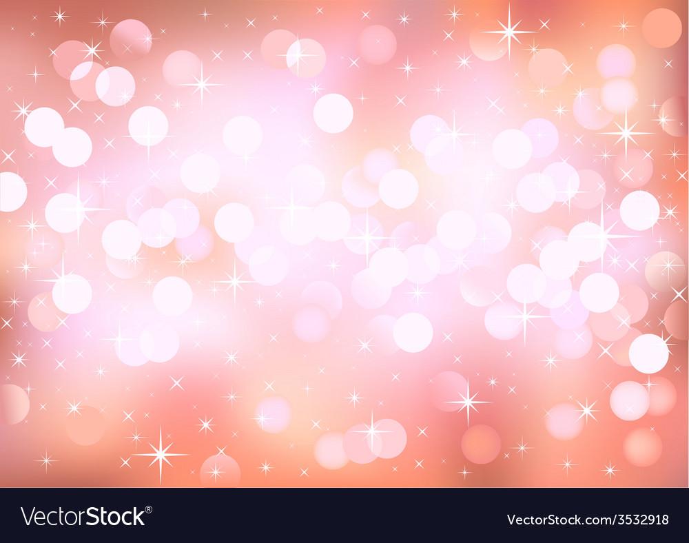 Pink lights vector