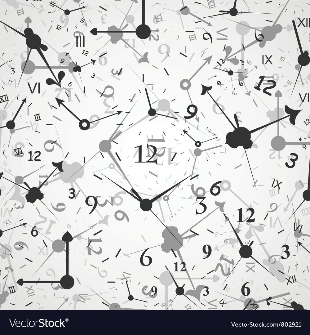 Hour background vector