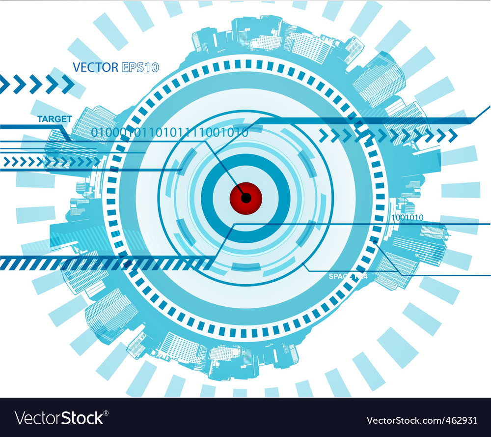 Technology illustration vector