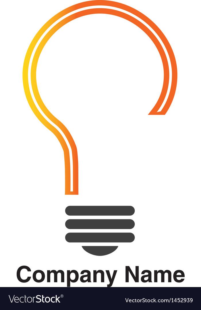 Idea logo vector