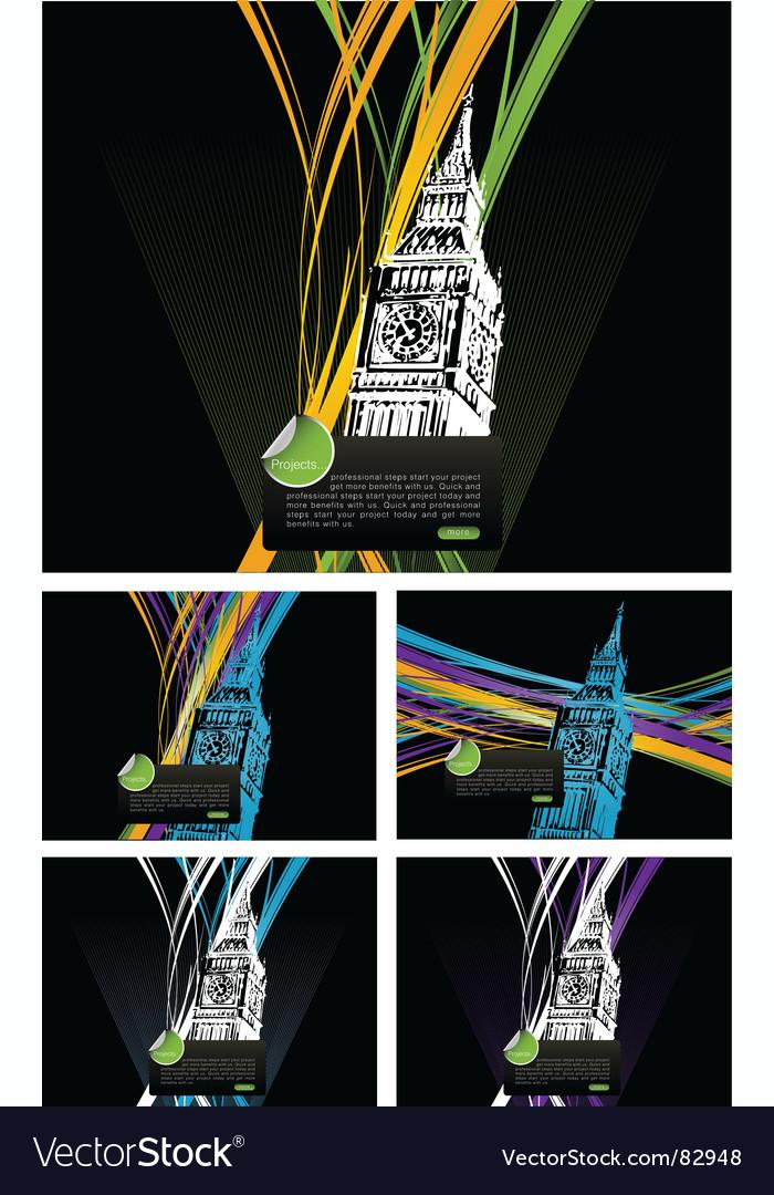 London town vector