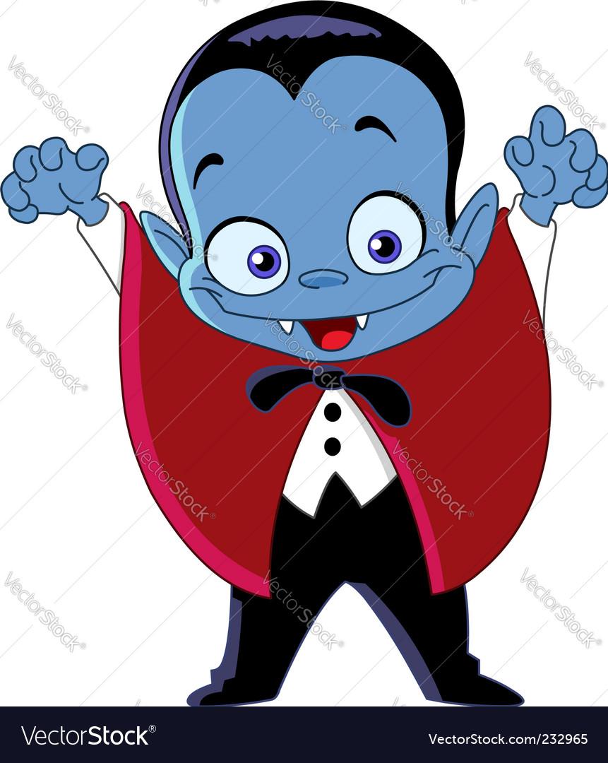 Vampire kid vector