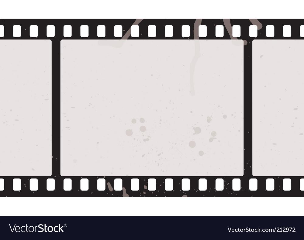 Film strip concept vector