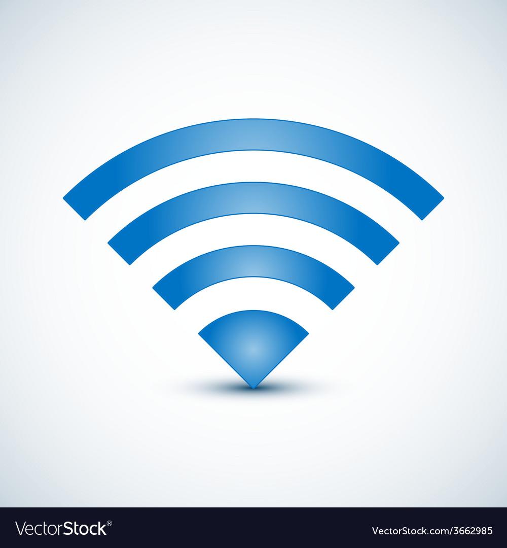 Wireless nerwork symbol vector