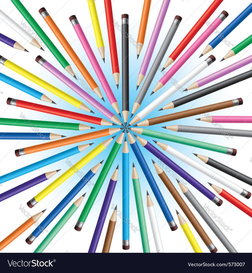 Chaotic pencils vector