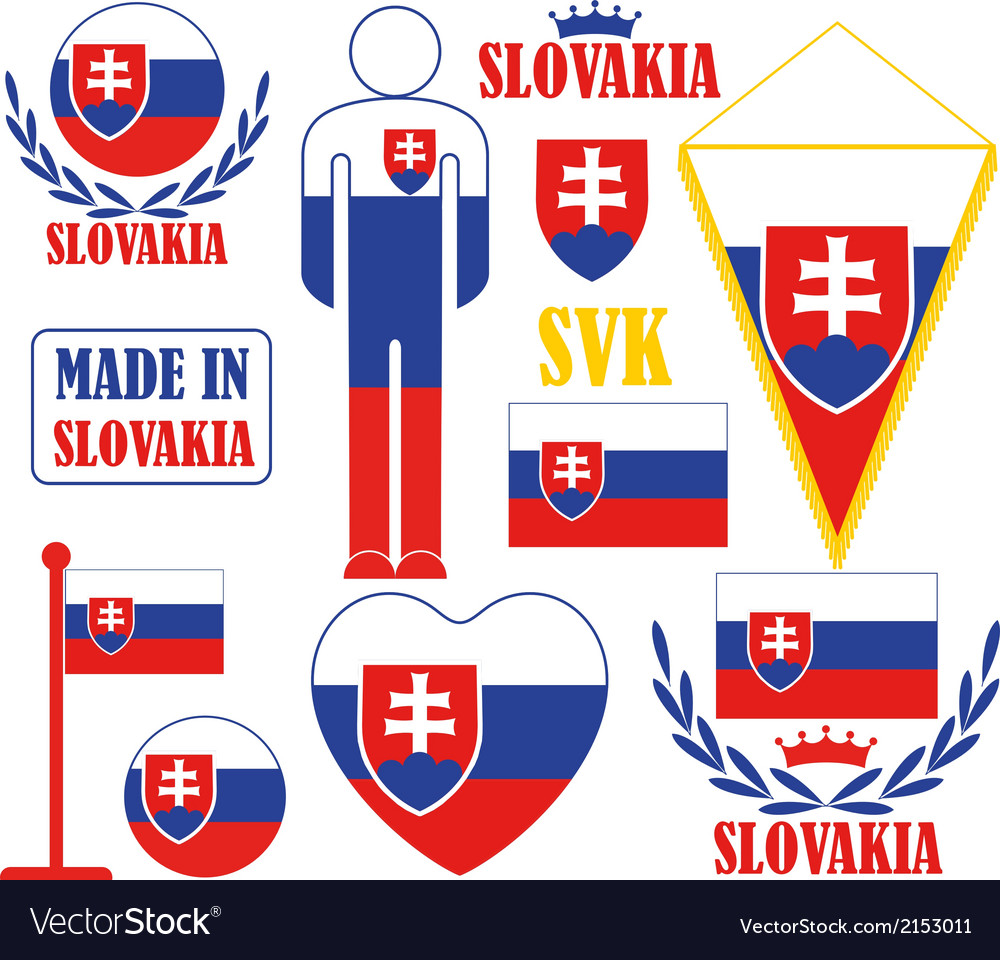Slovakia vector