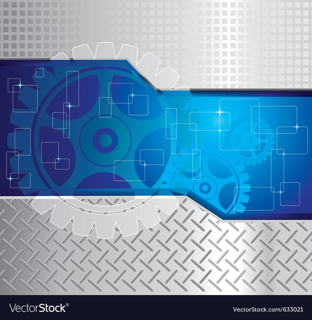 Abstract background with gear vector