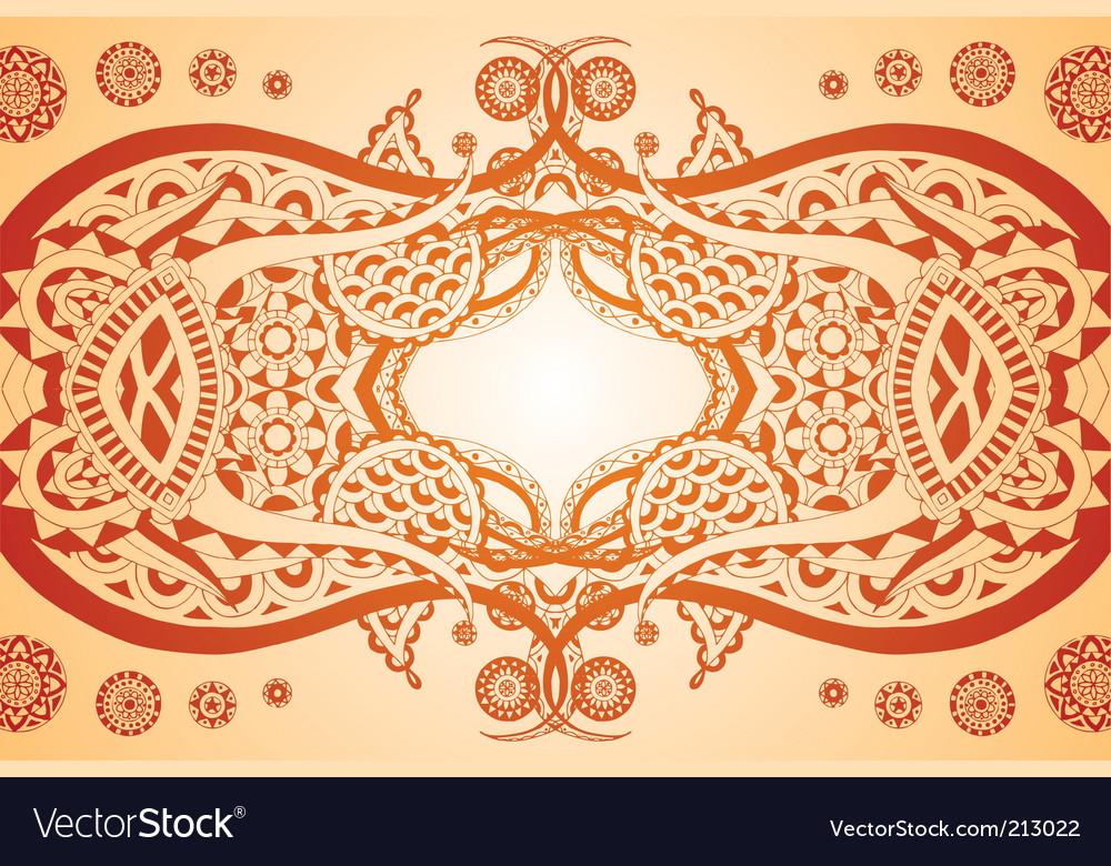 Elegant symmetry vector