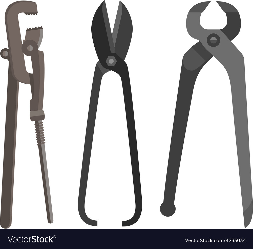 Instrument for difficult work vector