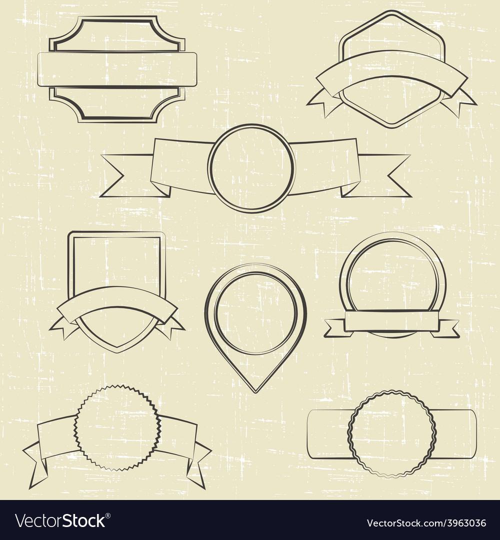 Contour labels vector