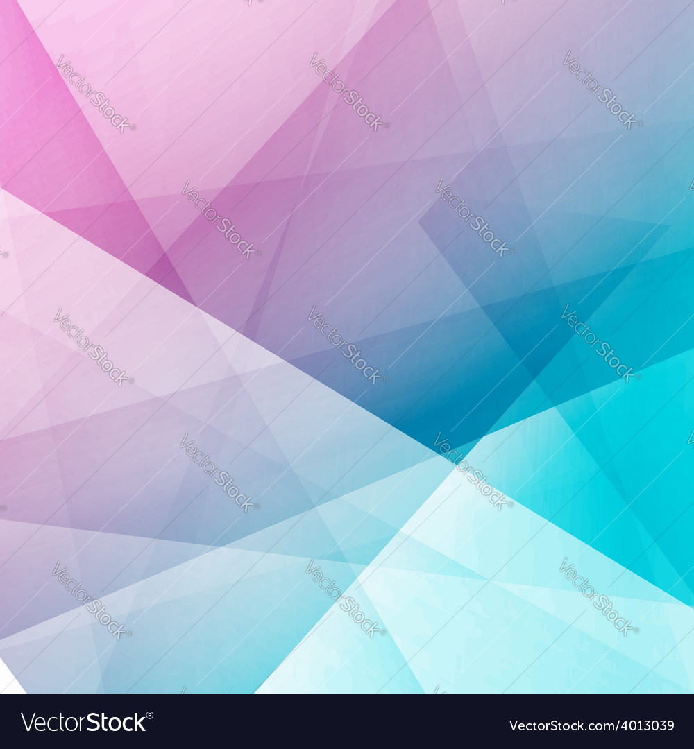 Bright modern abstract crystal structure template vector