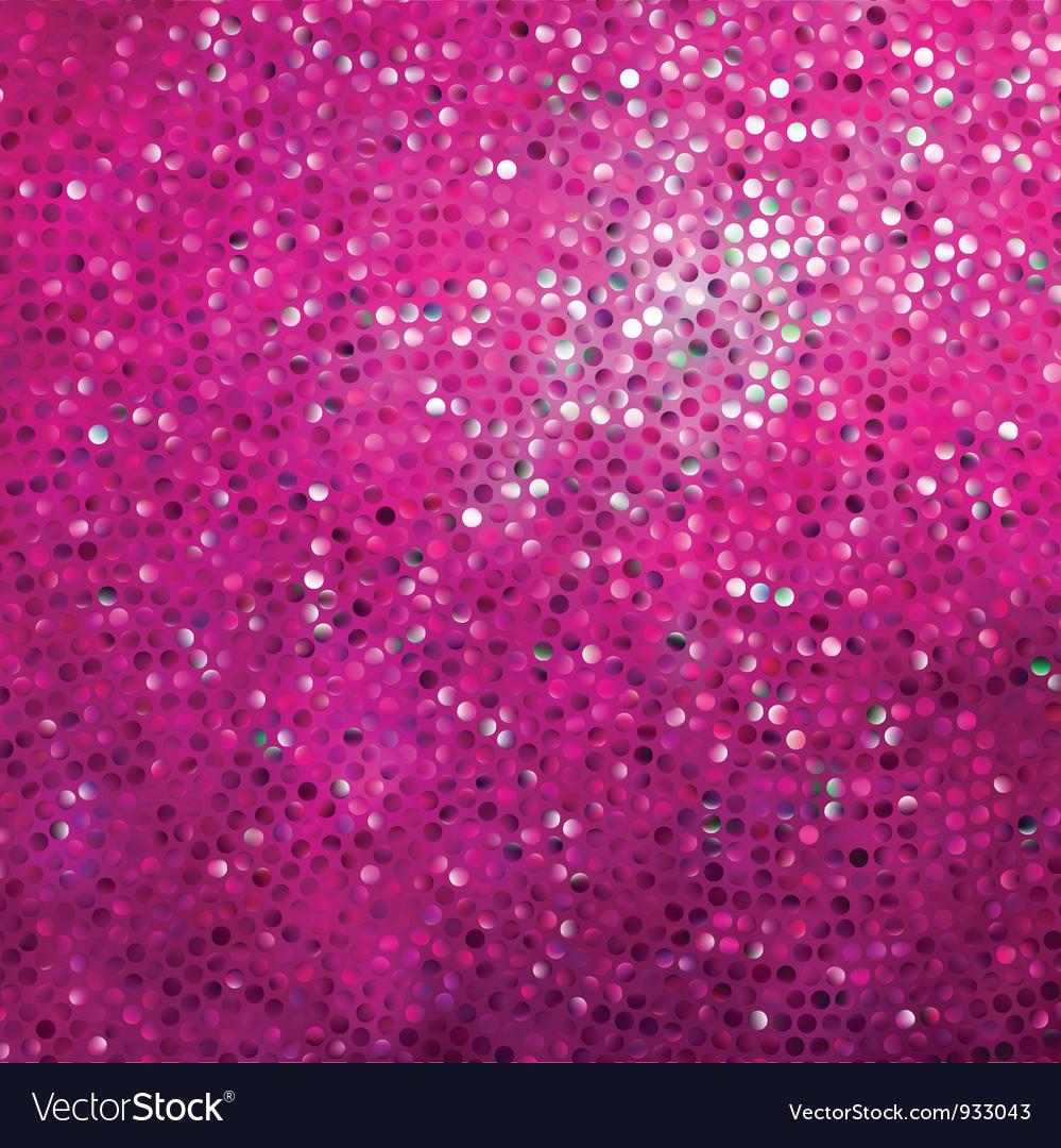 Pink glitter pattern background vector